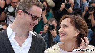 Nicolas Winding Refn and Kristen Scott Thomas