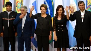 The Summit of Heads of State of Mercosur in December 2012