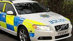 Cumbria Police car
