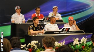 Wednesday press conference, Monaco