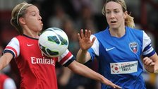 Arsenal Ladies and Bristol Academy