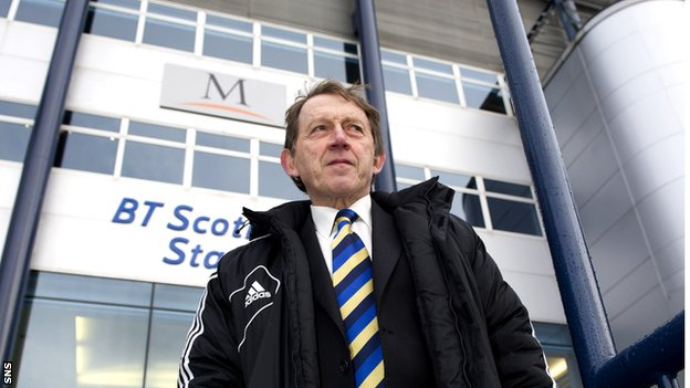 Livingston chairman Gordon McDougall