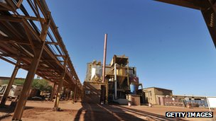 News Photo:Arlit uranium mine