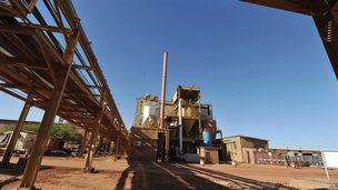 Areva mine near Arlit in northern Niger