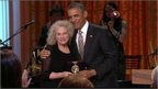 Carole King and Barack Obama