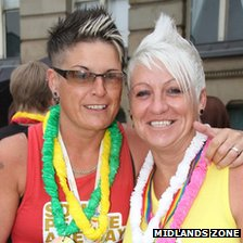 Couple at Pride 2012