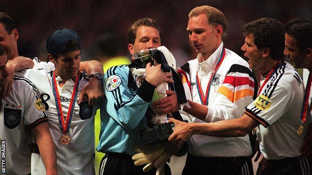 Germany win Euro 96