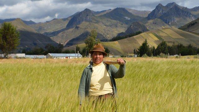 Working Lives Ecuador: Farmer Maria Ante