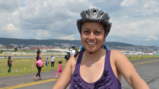 Working Lives Ecuador: Campaigner Karina Davila