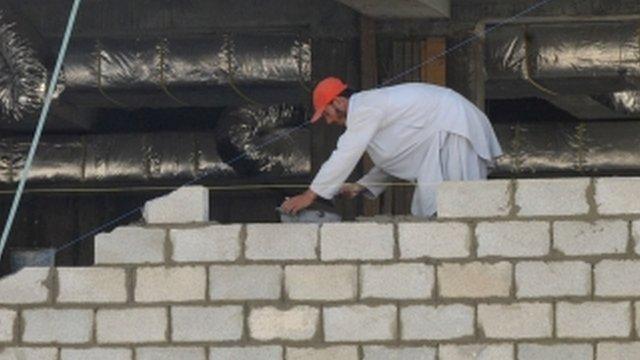 Builder in Saudi Arabia