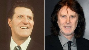 Tommy Cooper and David Threlfall
