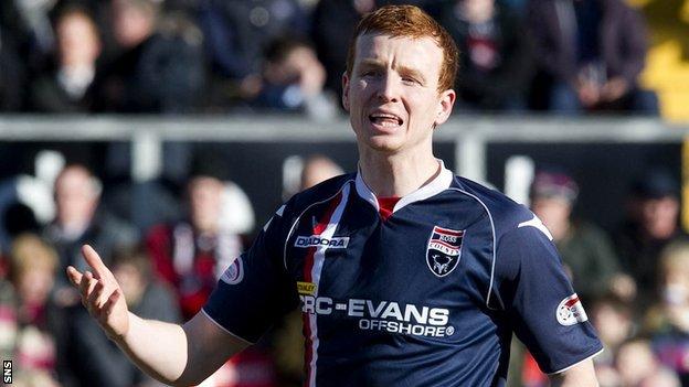 Ross County defender Scott Boyd