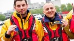 Rescuers Chris Missen and Paul Eastment