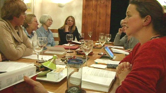VIDEO: The book clubs that find bestsellers...