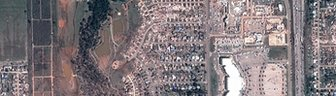 An orbital view of Moore, Oklahoma
