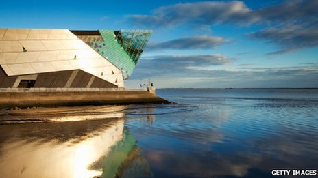 The Deep has become the most famous landmark in Hull