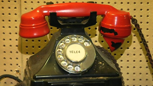 VIDEO: Churchill's Liverpool WWII hotline...