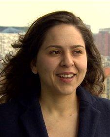 Lara Piccinato - organiser of the Birmingham Architecture Festival