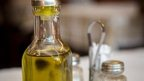 Refillable bottle of olive oil (file photo)