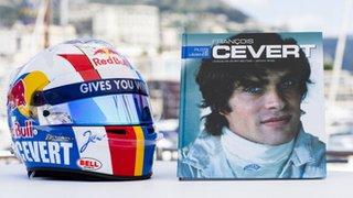 Jean-Eric Vergne's Monaco helmet