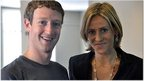 Mark Zuckerberg with Emily Maitlis