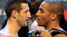 Carl Froch and Andre Ward