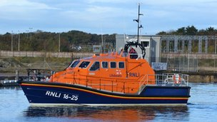 The Tamar class lifeboat, Kiwi