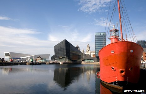 The Museum of Liverpool (far left)