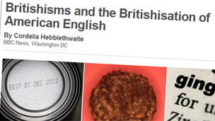 Britishisms feature