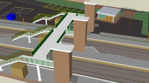 Theale station design