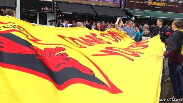 Watford FC banner