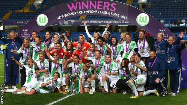 champions league wolfsburg