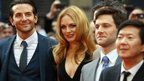 Bradley Cooper, Heather Graham, Justin Bartha and Ken Jeong