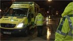 Yorkshire Ambulance Service staff on site