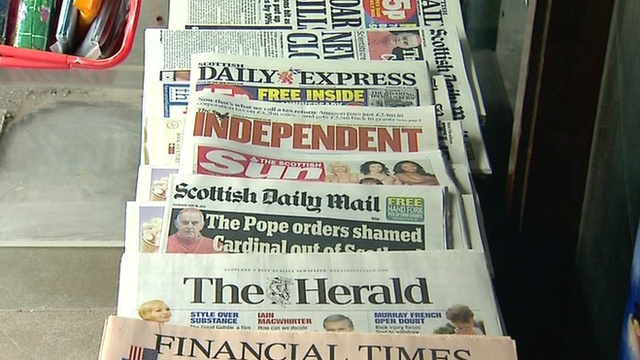 The UK press