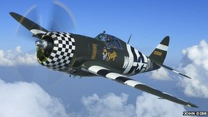 Republic P-47G Thunderbolt