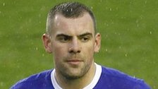 Republic of Ireland midfielder Darron Gibson