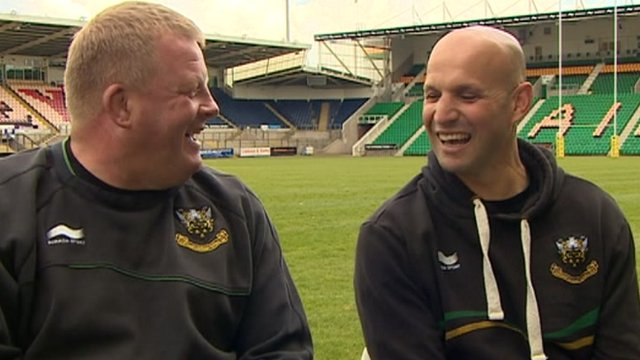 Dorrian West and Jim Mallinder