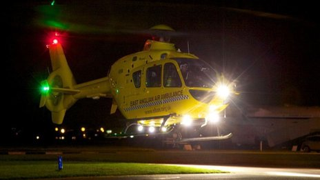 East Anglian night-time Air Ambulance
