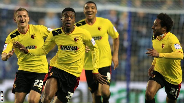 Nathaniel Chalobah and team-mates