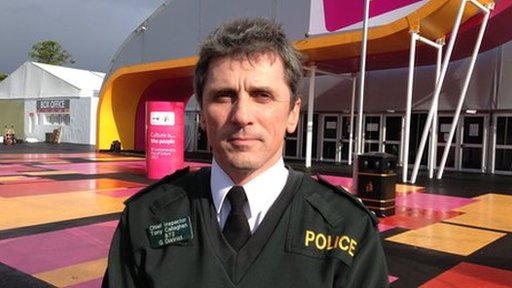 Chief Inspector Tony Callaghan