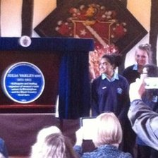 Blue plaque to honour Julia Varley