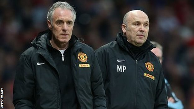Eric Steele and Mike Phelan have left Manchester United
