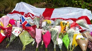 Tributes to Lee Rigby