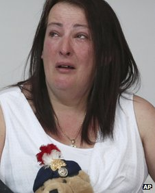 Lyn Rigby, the mother of murdered soldier Lee Rigby