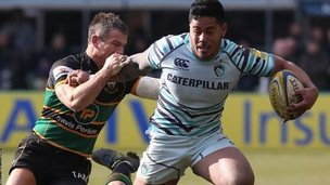 Leicester take on Northampton at Franklin's Gardens in March