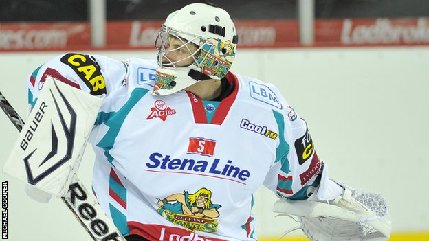 UK: Reserve Netminder Andrew Dickson Stays On With Belfast