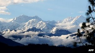 File photo of Mt Kanchenjunga