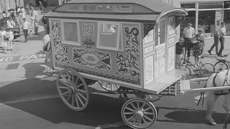 Beatles Sgt Pepper Gypsy Caravan