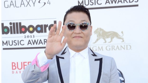 South Korean popstar Psy